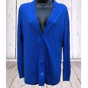 GAP | Blue wool blend Sweater Cardigan | Medium